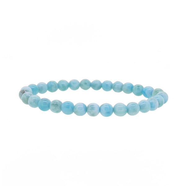 A-Grade Larimar 6mm - Gaea | Crystal Jewelry & Gemstones (Manila, Philippines)