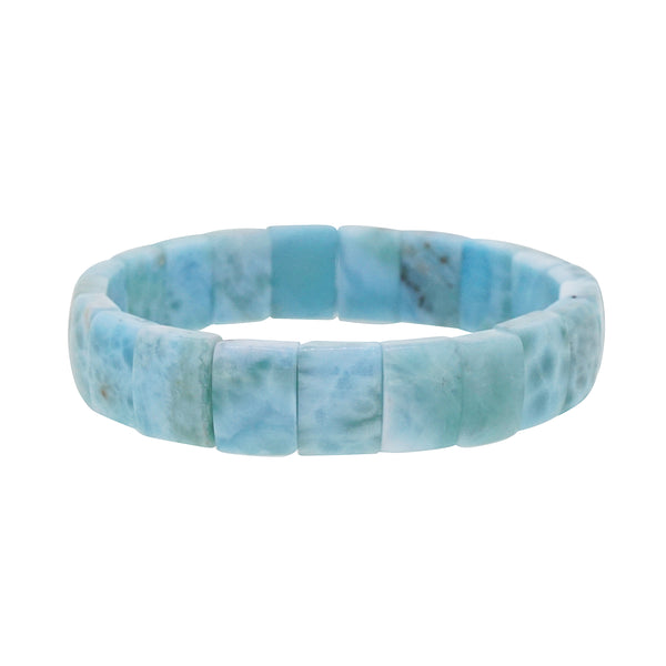 A-Grade Larimar Bangle (M) - Gaea | Crystal Jewelry & Gemstones (Manila, Philippines)