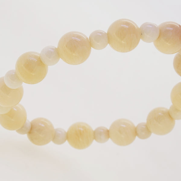 Ivory Amazonite 10mm and 6mm - Gaea | Crystal Jewelry & Gemstones (Manila, Philippines)