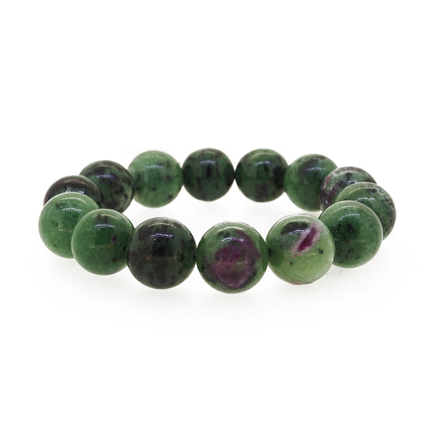 Ruby Zoisite 14mm - Gaea | Crystal Jewelry & Gemstones (Manila, Philippines)