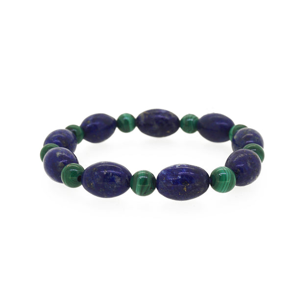 Lapis Lazuli and Malachite - Gaea | Crystal Jewelry & Gemstones (Manila, Philippines)