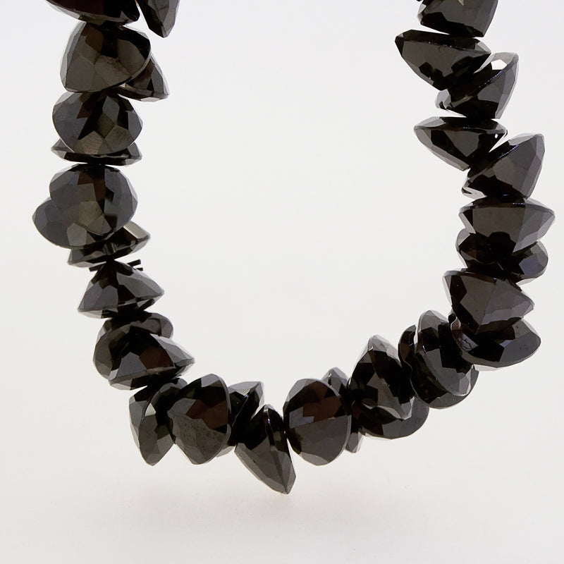Black Spinel Faceted Ovals - Gaea | Crystal Jewelry & Gemstones (Manila, Philippines)