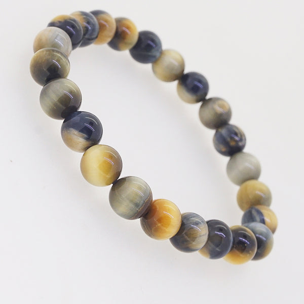 Blue and Golden Tiger Eye 8mm - Gaea | Crystal Jewelry & Gemstones (Manila, Philippines)