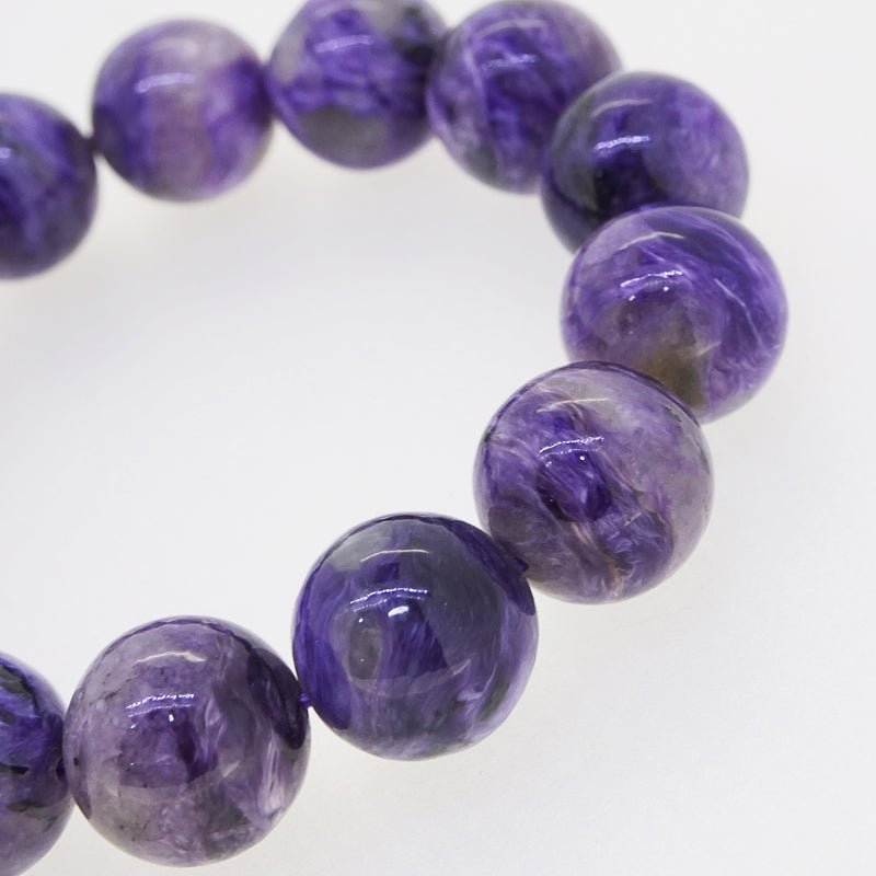 Charoite 14mm - Gaea | Crystal Jewelry & Gemstones (Manila, Philippines)