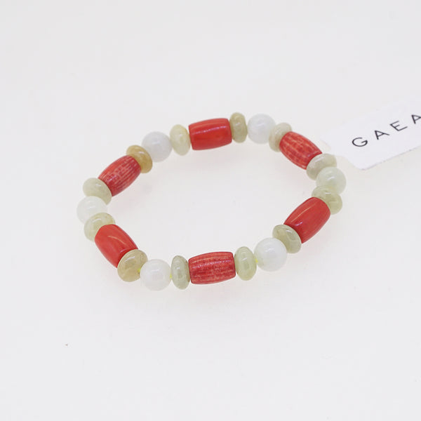 Burma Jade and Japanese Red Coral (For Baby) - Gaea | Crystal Jewelry & Gemstones (Manila, Philippines)