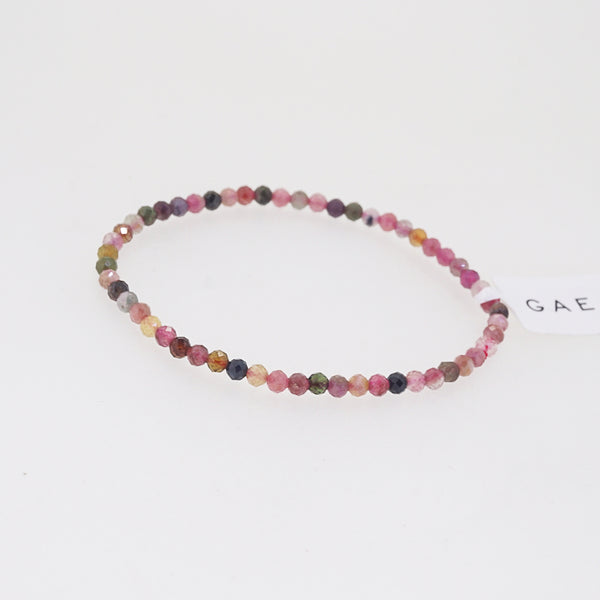 Multicolored Tourmaline Faceted 3mm - Gaea | Crystal Jewelry & Gemstones (Manila, Philippines)