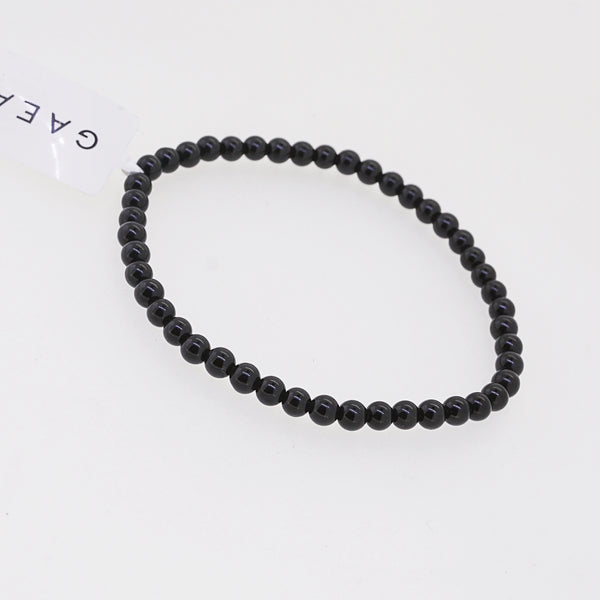 Black Tourmaline 4mm - Gaea | Crystal Jewelry & Gemstones (Manila, Philippines)