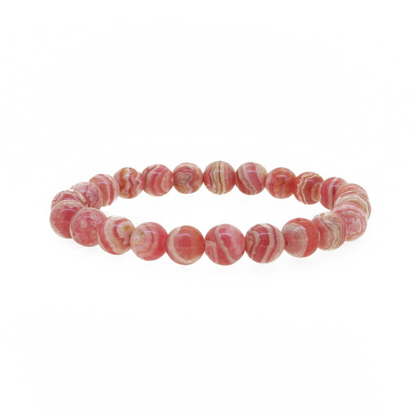 Rhodochrosite 8mm - Gaea | Crystal Jewelry & Gemstones (Manila, Philippines)