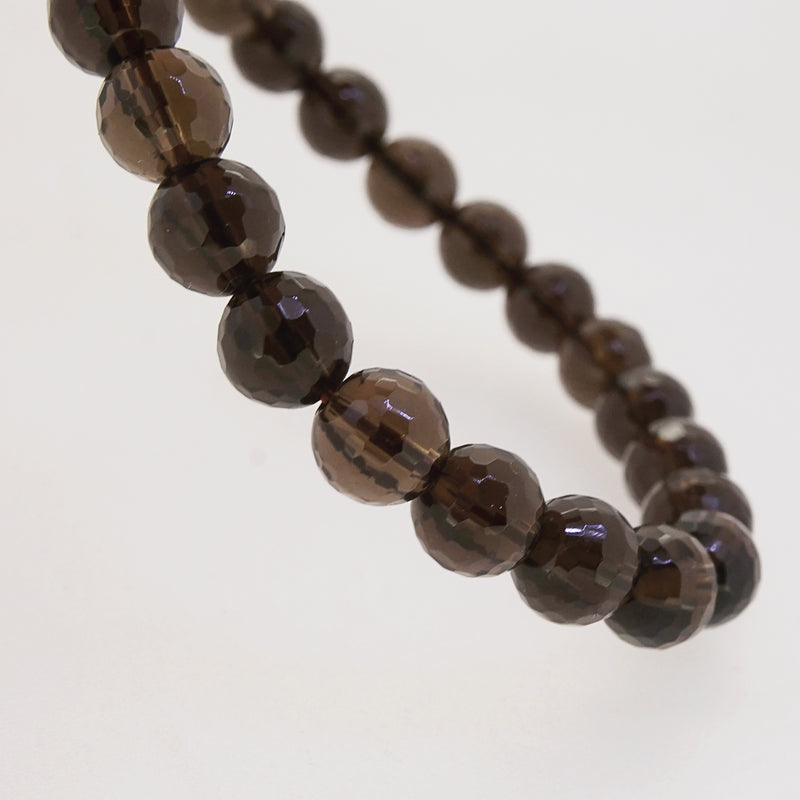 Smoky Quartz Faceted 8mm - Gaea | Crystal Jewelry & Gemstones (Manila, Philippines)