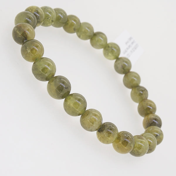 African Green Garnet 8mm - Gaea | Crystal Jewelry & Gemstones (Manila, Philippines)