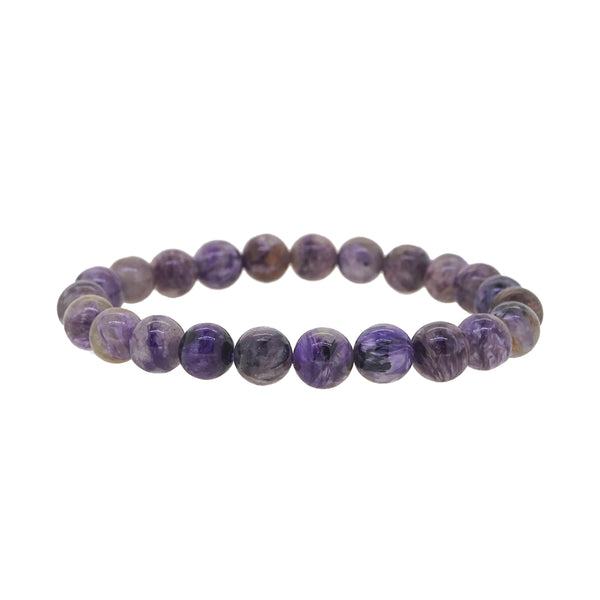 Charoite 8mm - Gaea | Crystal Jewelry & Gemstones (Manila, Philippines)