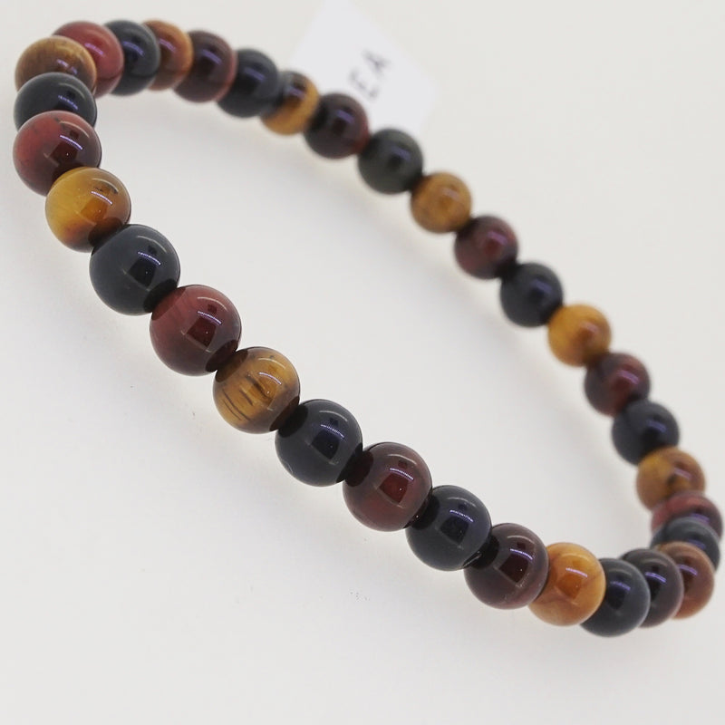 Tricolor Tiger Eye 6mm - Gaea | Crystal Jewelry & Gemstones (Manila, Philippines)