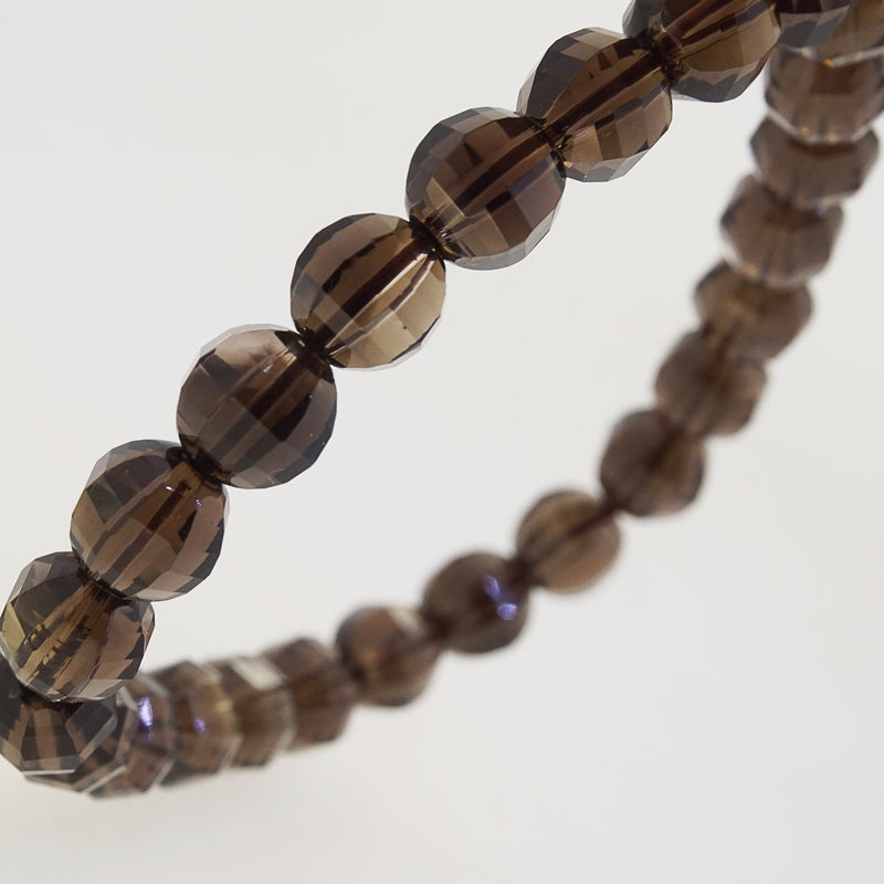 A-Grade Smoky Quartz Faceted 8mm - Gaea | Crystal Jewelry & Gemstones (Manila, Philippines)