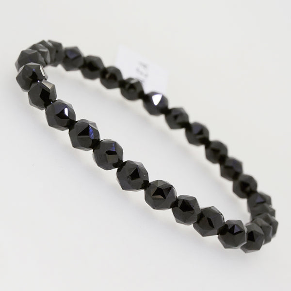A-Grade Black Spinel Star Facets 6mm - Gaea | Crystal Jewelry & Gemstones (Manila, Philippines)