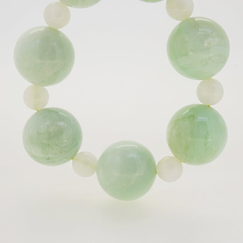 Green Moonstone 22mm and White Moonstone 9.5mm - Gaea | Crystal Jewelry & Gemstones (Manila, Philippines)