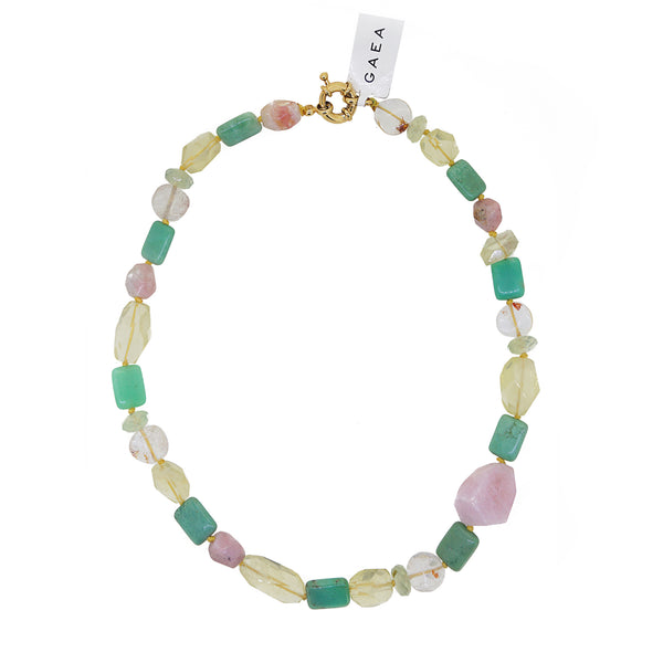 Chrysoprase, Lemon Quartz, Pink Opal - Gaea | Crystal Jewelry & Gemstones (Manila, Philippines)