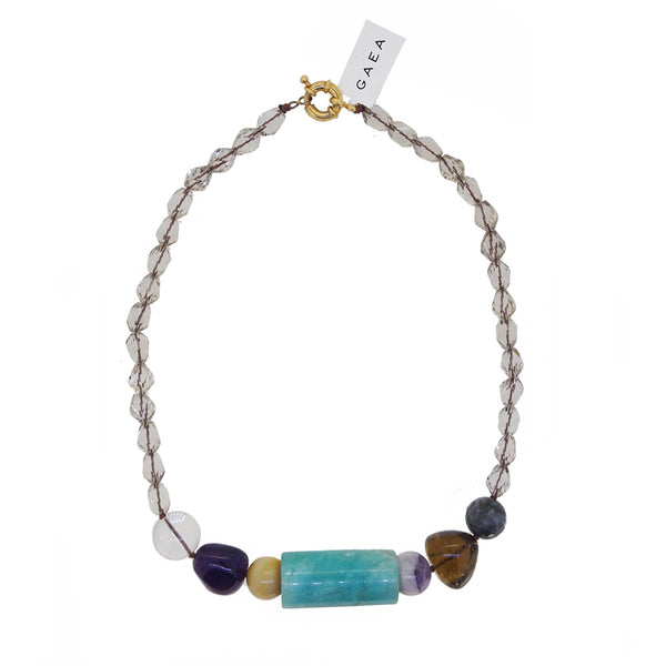 Smoky Quartz, Amazonite, Amethyst, Whisky Topaz, Tiger Eye - Gaea | Crystal Jewelry & Gemstones (Manila, Philippines)