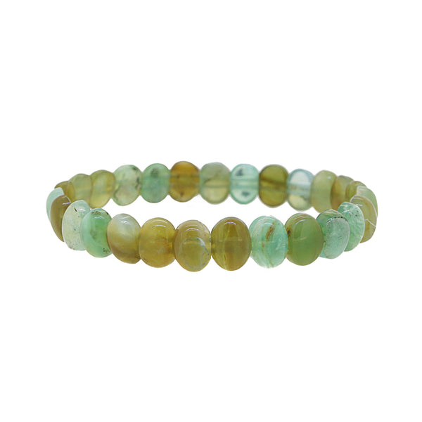 Prase Opal Bangle (S) - Gaea | Crystal Jewelry & Gemstones (Manila, Philippines)