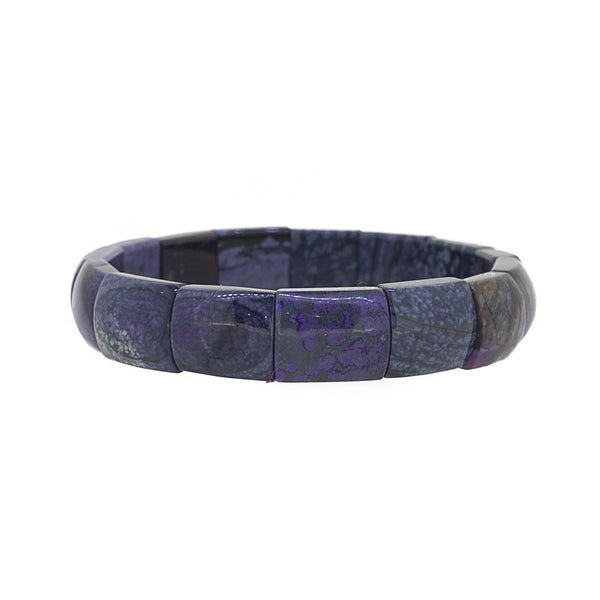 A-Grade Sugilite Bangle (M) - Gaea | Crystal Jewelry & Gemstones (Manila, Philippines)