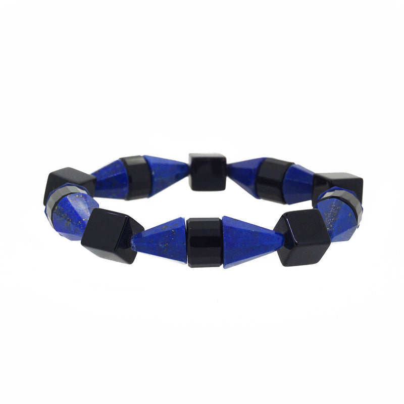 Black Onyx and Lapis Lazuli Cones - Gaea | Crystal Jewelry & Gemstones (Manila, Philippines)