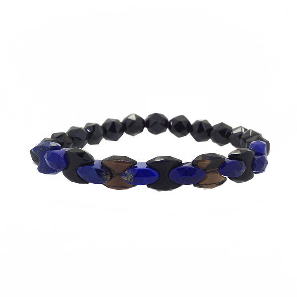 Lapis Lazuli Links with Black Spinel - Gaea | Crystal Jewelry & Gemstones (Manila, Philippines)