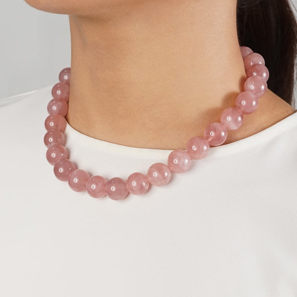 Madagascar Rose Quartz 16mm - Gaea | Crystal Jewelry & Gemstones (Manila, Philippines)