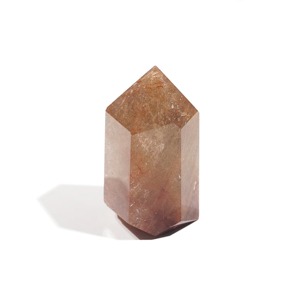 Golden/Copper Rutilated Quartz Point H