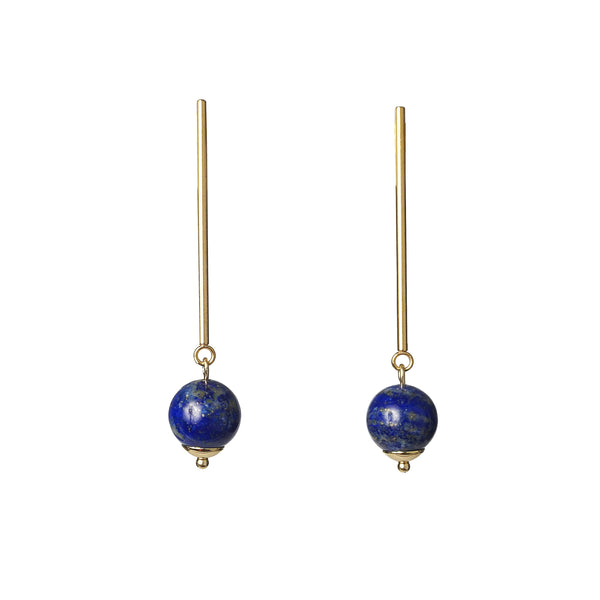 Lapis Lazuli 10mm Drop - Gaea | Crystal Jewelry & Gemstones (Manila, Philippines)