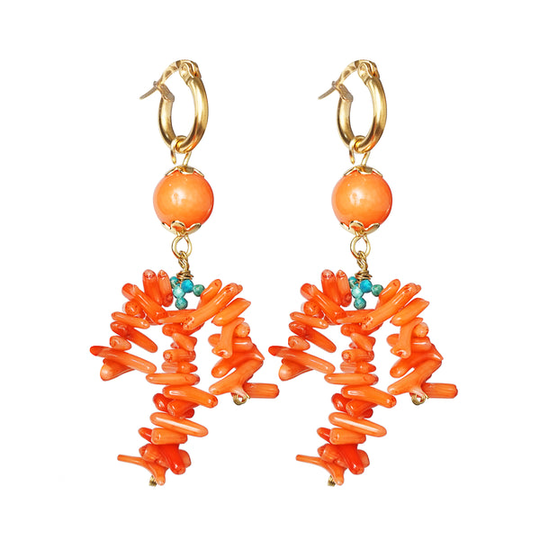 Coral Branches and Turquoise - Gaea | Crystal Jewelry & Gemstones (Manila, Philippines)