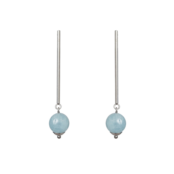 Aquamarine 10mm Drop - Gaea | Crystal Jewelry & Gemstones (Manila, Philippines)