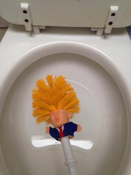 Donald Trump Toilet Brush
