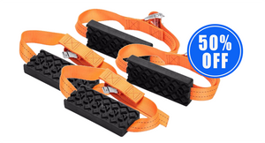 1 Pair Of Anti-Skid Tire Blocks + 1 Pair 50% OFF
