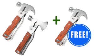 2 16-In-1 Multi-Functional Hammers + 1 FREE