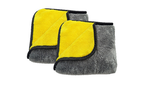 1 Microfiber Towel (Pack of 2) + 1 50% OFF