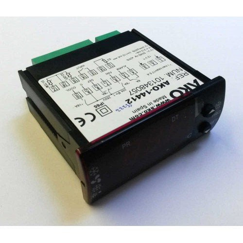 AKO 14412 12V digital refrigeration 4 relay temperature controller thermostat