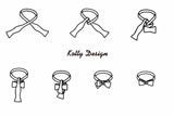 How to tie ow tie. Knotty by Kotty.