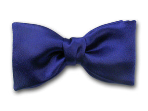 "Solid ""Royal Classic"""" Bow Tie - Silk Men's Bow Tie - Hand Made in USA"