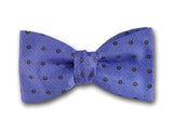 Blue Silk Bow Tie for Men.