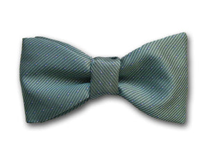 Green Silk Bow Tie for Men.