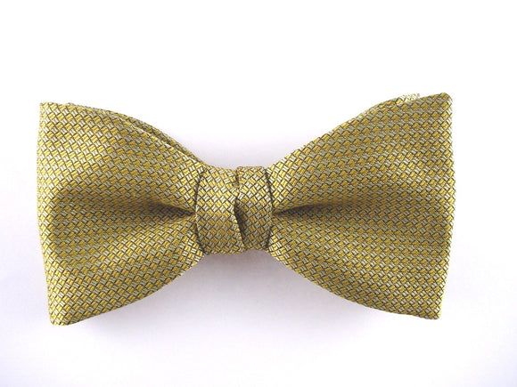 Gold Men's Bow Tie. El Dorado Bowties.