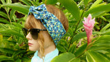 "Women's Headband ""Luau"" - Banana Leaf Design Hair Accessories - Made in USA"