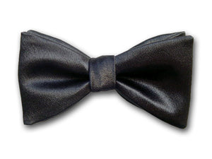 Formal Black Bow Tie. Tuxedo Bow Tie.