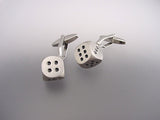 Removable Dice Cufflinks - Novelty Cufflinks - Original Men's Cufflinks