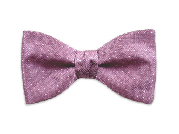 Lavender silk bow tie. Self tie and pre-tied bow ties.