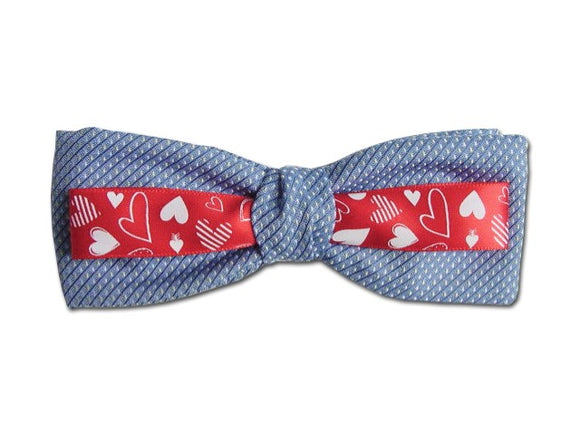 Bow tie for Valentine's romantic occasion.