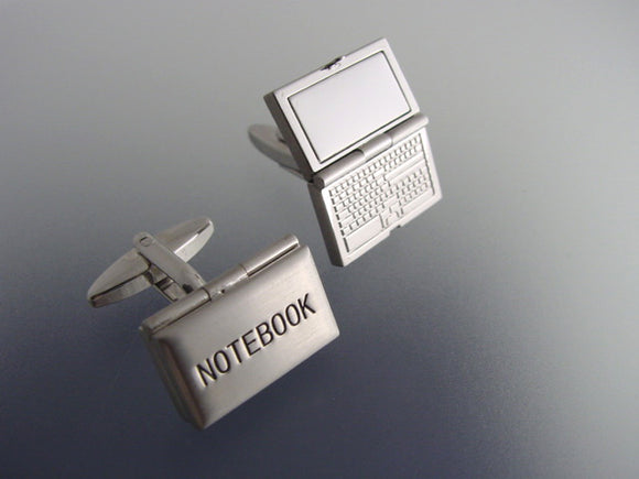 Laptop Compute Cufflinks - Theme Cuff Links - Original Men's Accessory