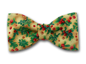Christmas Holiday Bow Tie for Men.
