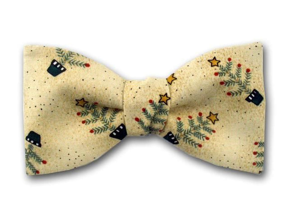 Christmas Men's Bow Tie.