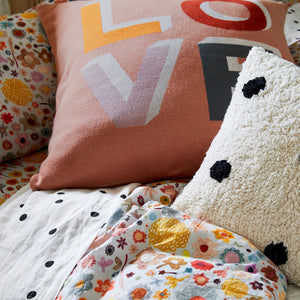 LOVE EUROPEAN CUSHION COVER