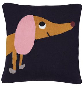 SYD Mini Cushion Cover by Castle. Cotton Knit, two sided. 30 x 30cm